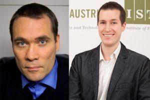 Tamás Hausel new Professor and Chris Wojtan promoted to Professor