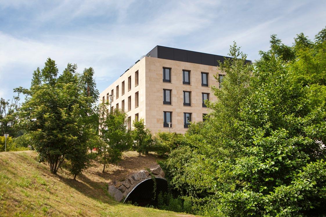 Lab Building West. © IST Austria