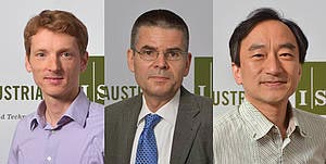 Three further ERC Advanced Grants for IST Austria Professors