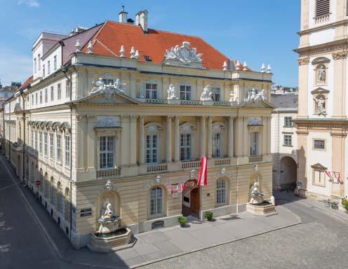 Austrian Academy of Sciences in Vienna © Michael Weinwurm / ÖAW