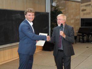 Mikhail Lemeshko Boltzmann Prize