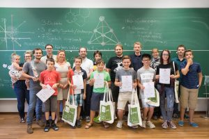 Wissenschaftssommer VolksschülerInnen Teenager IST Austria