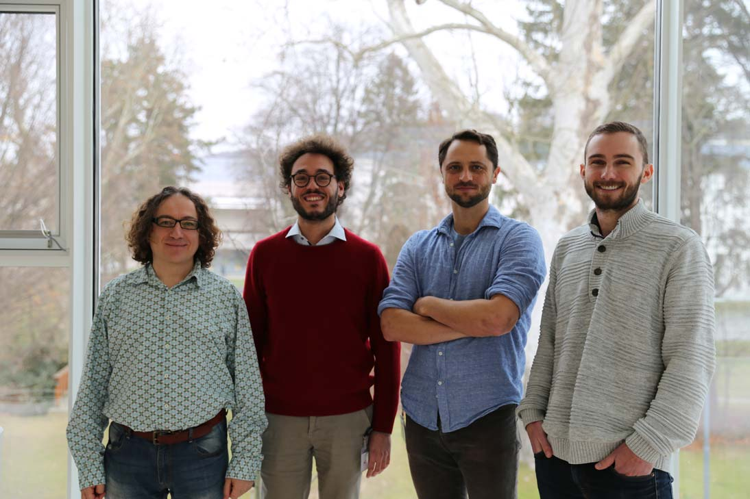 Four new professors have joined the Institute in 2019 to raise total number of research groups to 53 neurobiologist Mario de Bono, quantum physicist Andrew Higginbotham, soft-matter physicist Scott Waitukaitis and data scientist Marco Mondelli