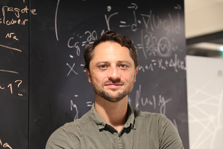Scott Waitukaitis, experimental physicist © IST Austria