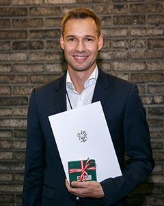 Congratulations to IST Austria alumnus Johannes Reiter