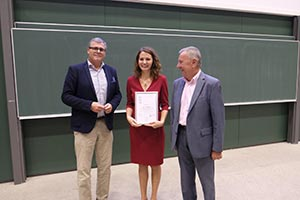 Congratulations Dora Tarlungeanu on receiving the Life Science PhD Award Austria