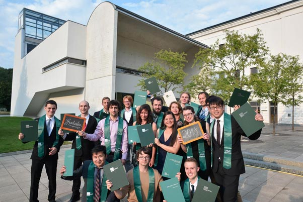 Pictures of the Graduation Ceremony 2018