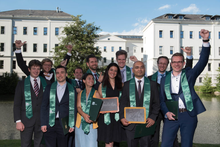 IST Austria celebrates 15 new PhD graduates