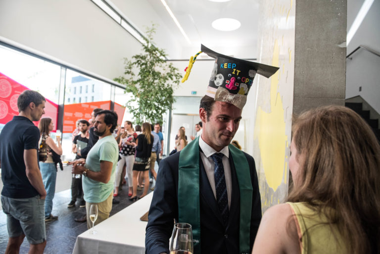 Pictures from the graduation ceremony 2017