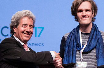 News: Congratulation: Computer Scientist Morten Bojsen-Hansen receives Eurographics Best Thesis Award