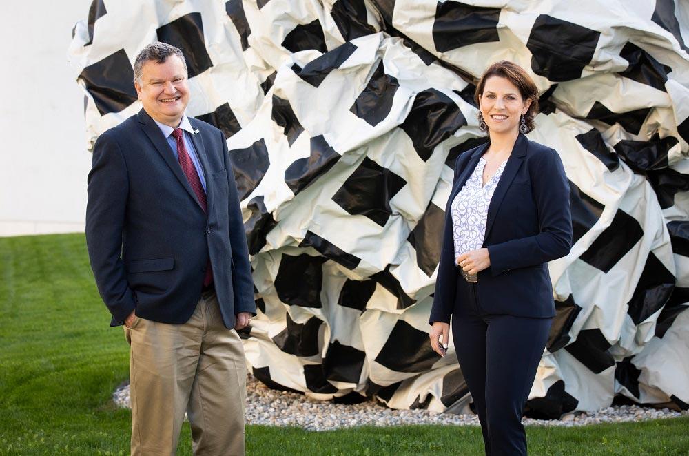 Visit IST Austria Minister Karoline Edtstadler