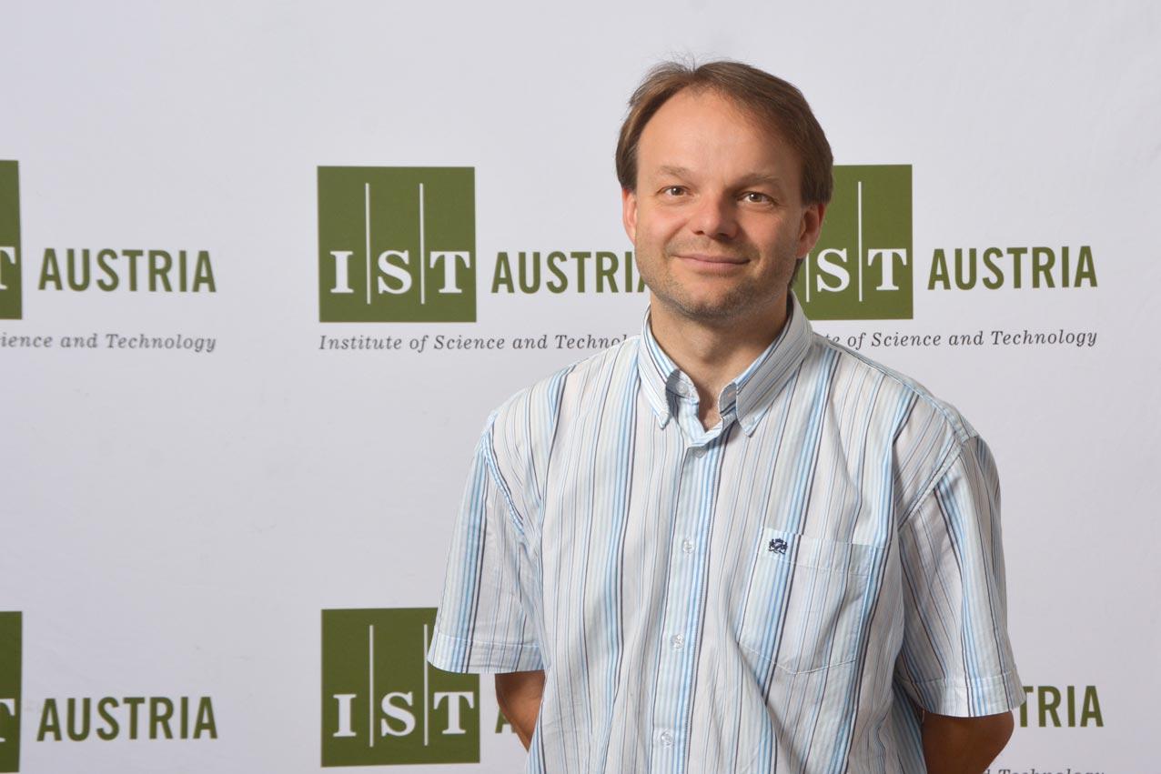 IST Austria Professor Jiří Friml