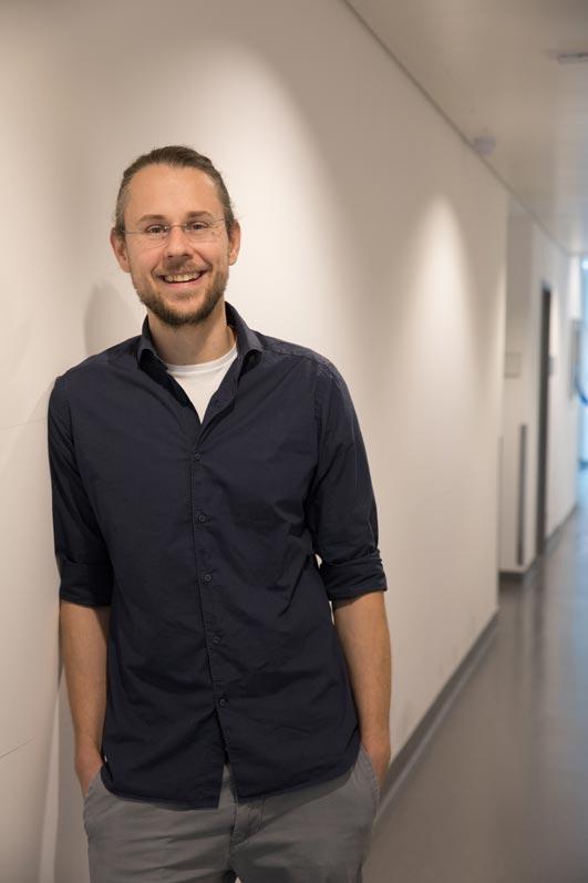 IST Austria Professor Florian Schur. © Nadine Poncioni, IST Austria