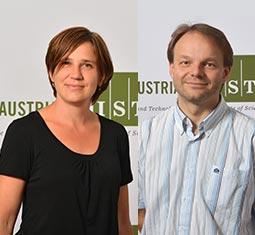 Professor Sylvia Cremer and Professor Jiří Friml