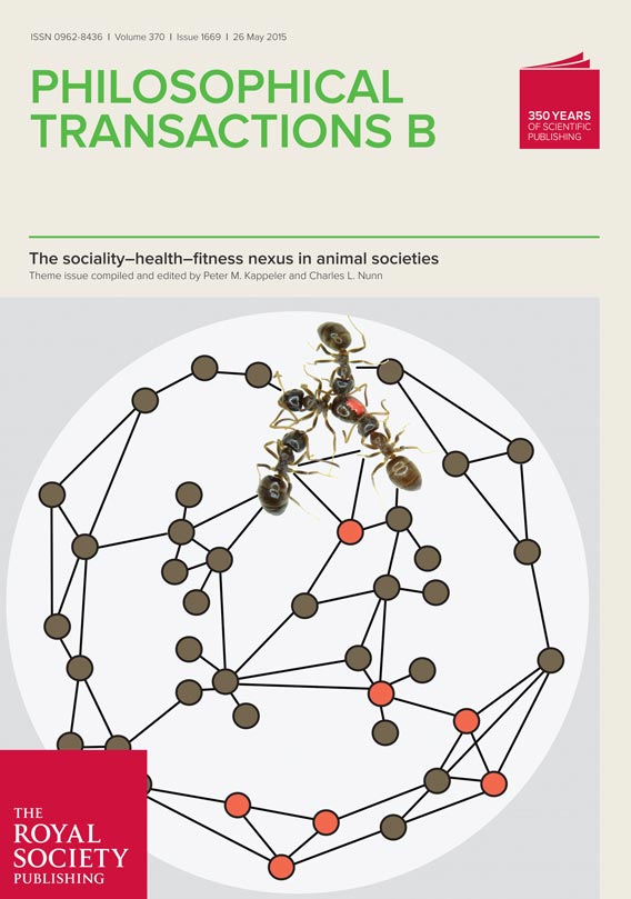 Front page of Philosophical Transactions of the Royal Society B