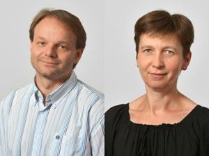 Jiři Friml, Professor at IST Austria, and Eva Benková, Assistant Professor at IST Austria