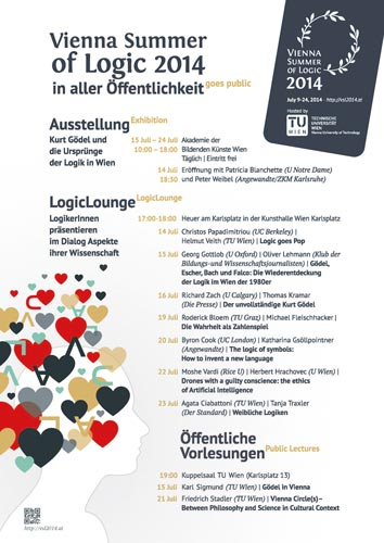 Vienna Summer of Logic 2014 Program