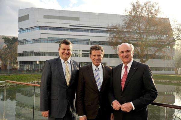 New lab building opened IST Austria 2012