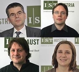 Four New Professors IST Austria