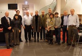 Association of Foreign Correspondents visits IST Austria