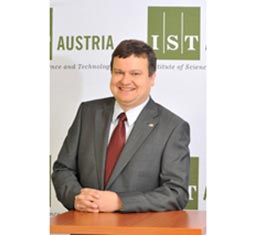 Professor Thomas A. Henzinger appointed First President of IST Austria 2008