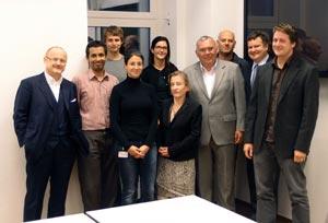 Gusenbauer, Chorherr and Hemetsberger visit IST Austria