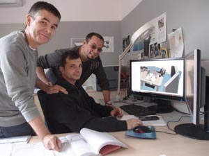 IST Austria  postdoc Alejandro Pernía-Andrade and Professor Peter Jonas Todor Asenov