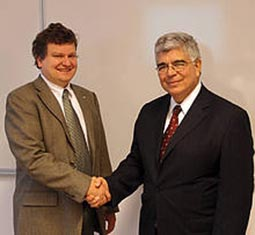 Science Minister of Costa Rica visits IST Austria