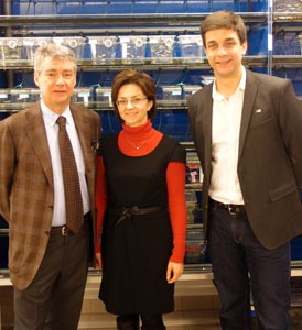 Swiss delegation visits IST Austria