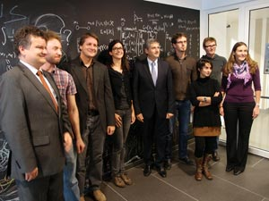 Vice Chancellor Spindelegger visits IST Austria