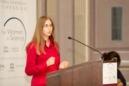Hildegard Uecker Women in Science IST Austria 2013
