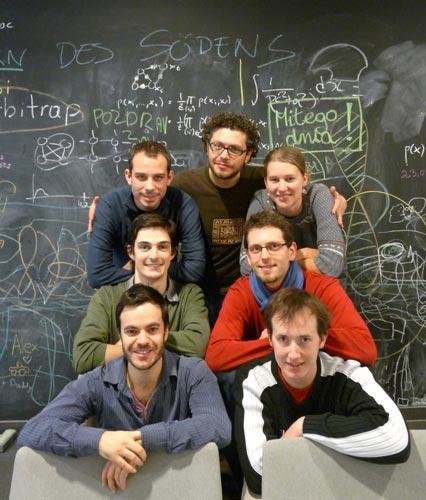 Photo of organizing committee