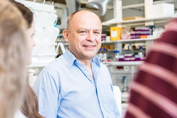 Leonid Sazanov. Together with his team, Prof. Sazanov has now described all supercomplexes of the respiratory chain in mammalian cells. © Nadine Poncioni/IST Austria